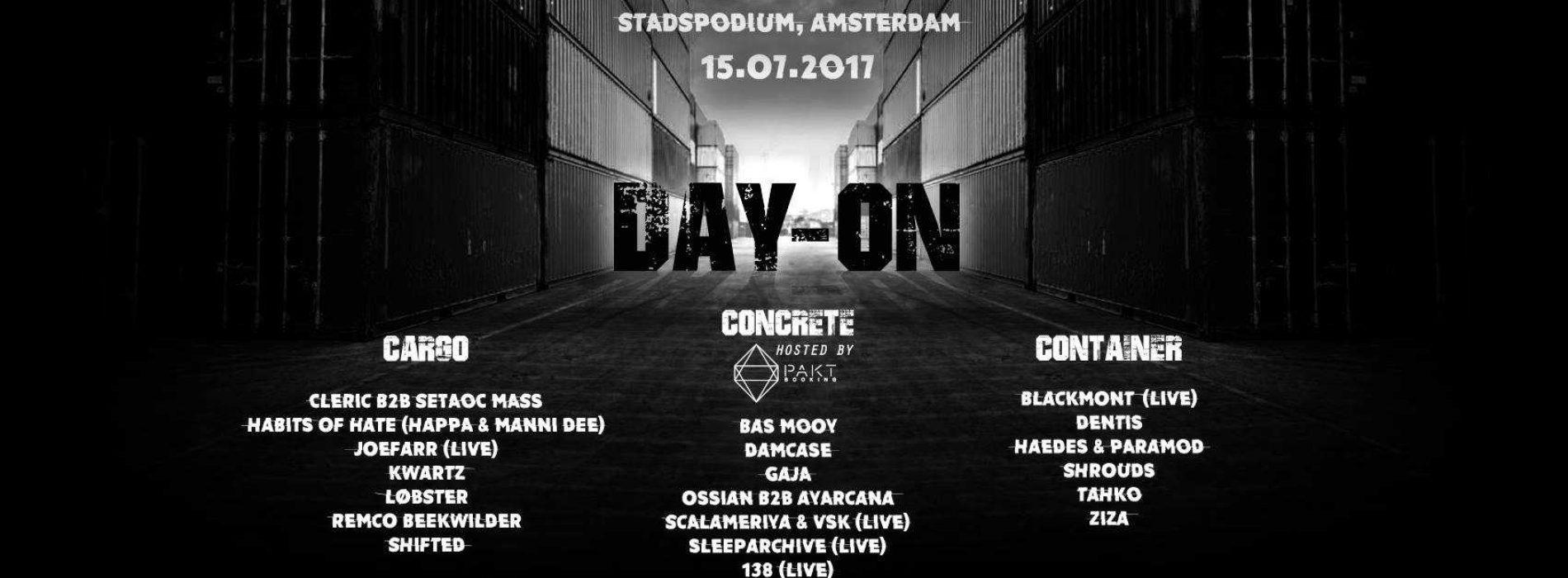 Day-On | Stadspodium Amsterdam