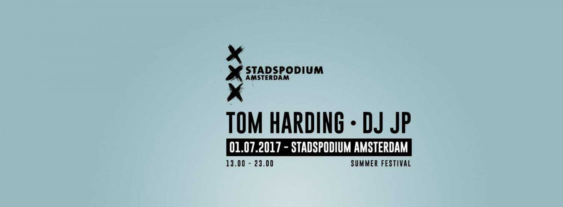 Tom Harding & DJ JP   Stadspodium Amsterdam
