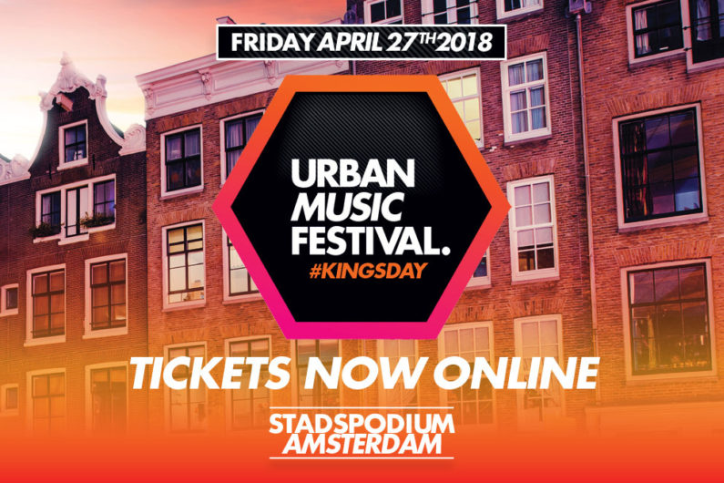 Urban Music Festival · Kingsday | Stadspodium Amsterdam