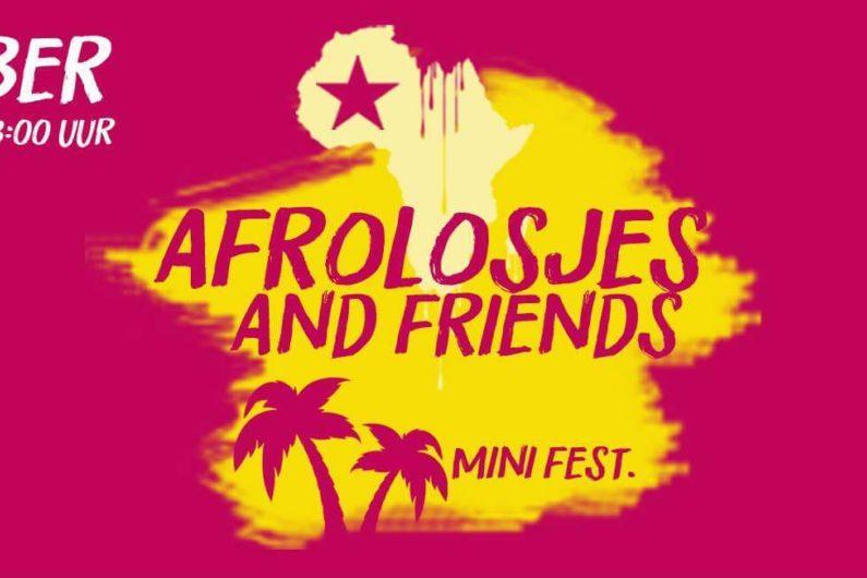 Afrolosjes and Friends Mini Fest.   Stadspodium Amsterdam